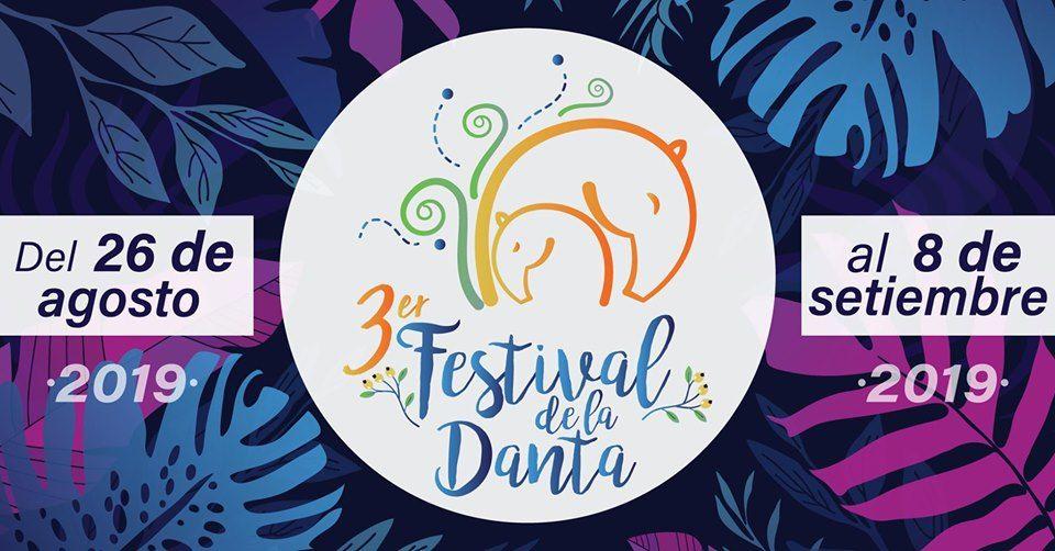 Te invitamos a visitar el Festival de la Danta en su tercer año