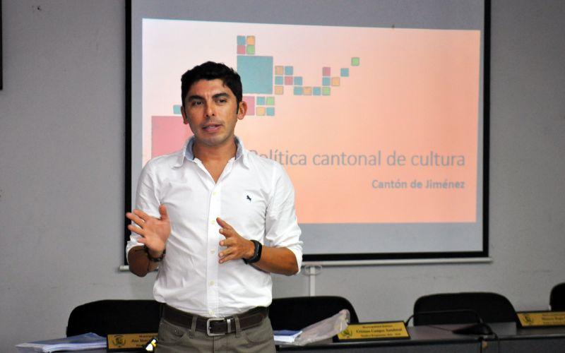 Mario Camacho Gestor de la DC en Cartago. Crédito foto: Federación de Municipalidades de Cartago
