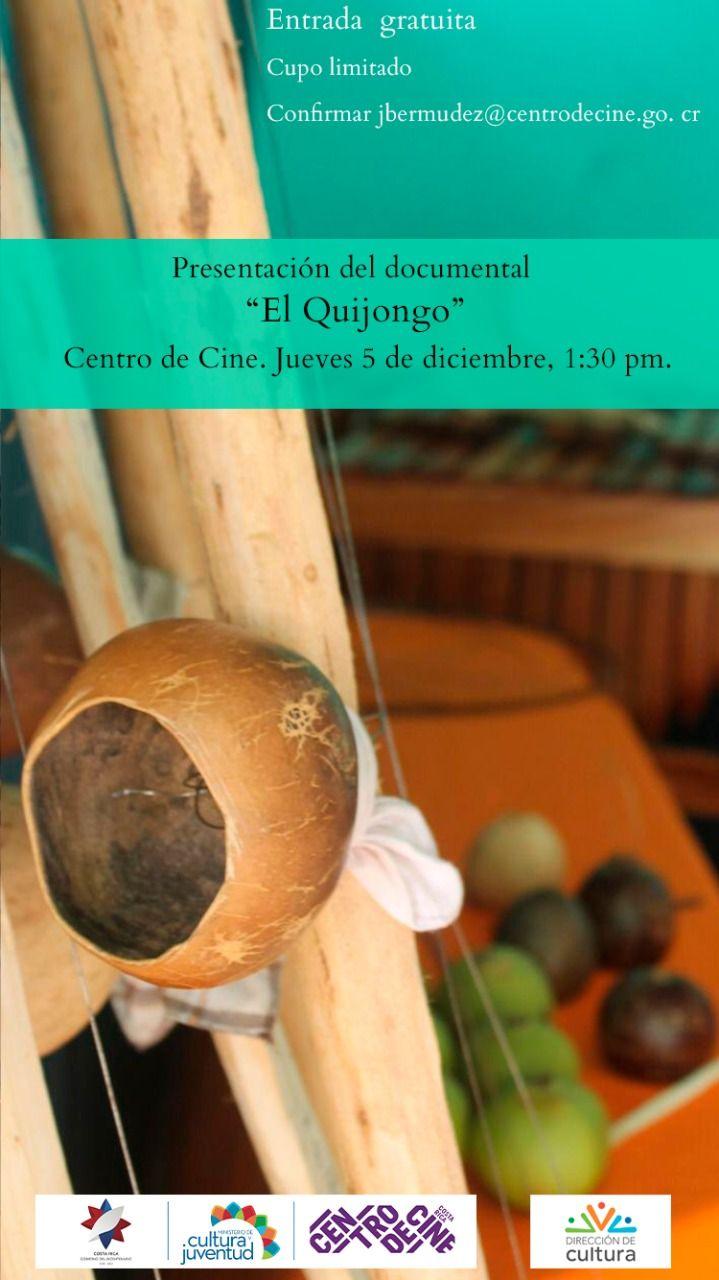 """Presentación del documental """"El Quijongo"""""""