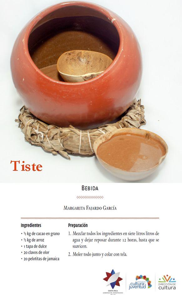 Tiste, es la refrescante receta de su bebida nicoyana