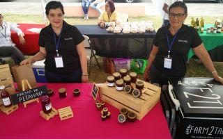 Emprendedoras de la Feria de Emprendimientos