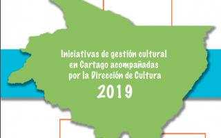 Memoria Gestión Sociocultural, Cartago 2019