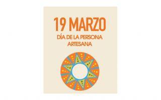 Afiche del 19 de marzo Día de la Persona Artesana