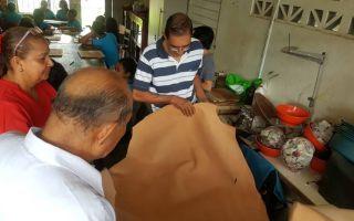 """El proyecto que desarrolla Andrea lleva por título: """"Rescate de la talabartería artesanal en cuero en Liberia, Guanacaste"""""""